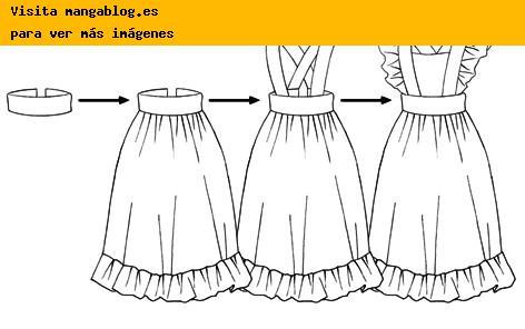 ... dibujar vestidos de asistentas y sirvientas | Mangablog - Como dibujar