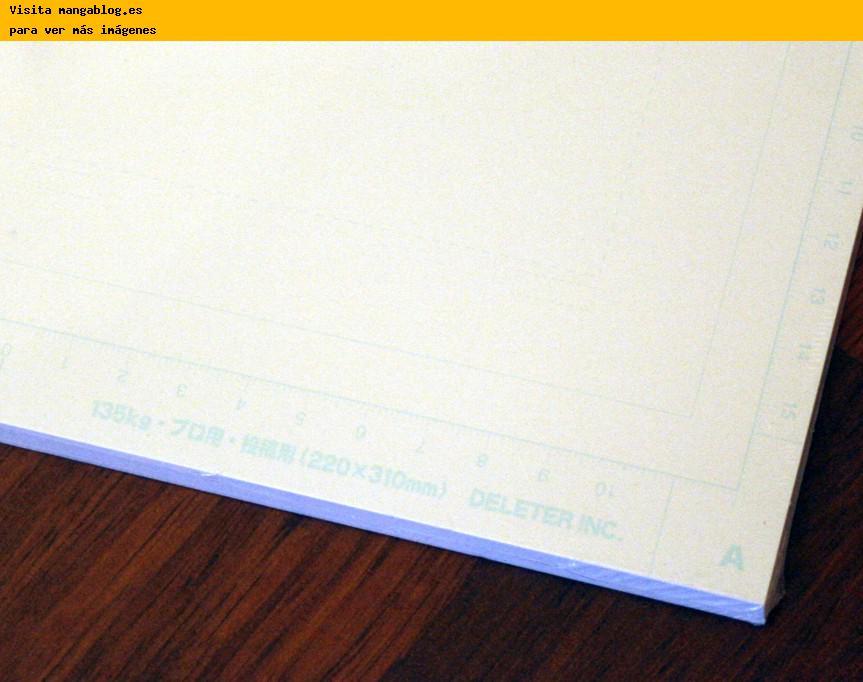 Como dibujar un manga parte 1 utensilios taringa - Papel para dibujar ...