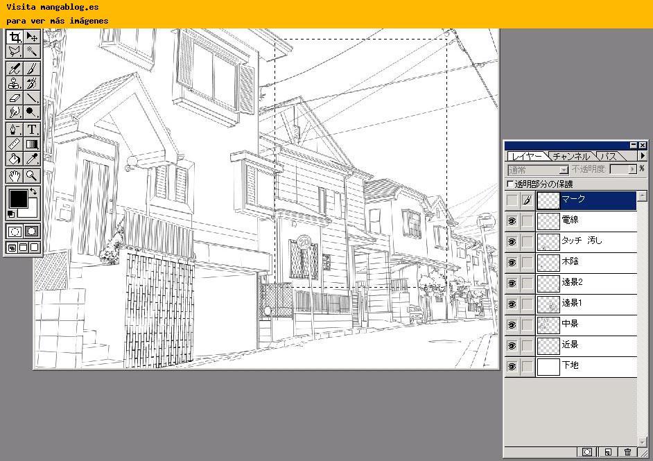 Fondos de calles y edificios para tus Mangas en la web Studio ????