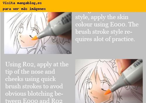 Tutoriales para aprender a colorear con rotuladores Copic por ...